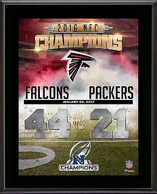 Atlanta Falcons 2016 NFC Conference Champions 10.5'' x 13'' Sublimated Plaque