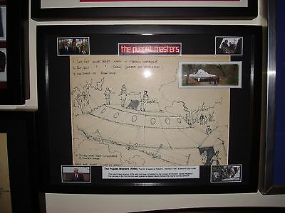 The Puppet Masters (1994) Film props & COA's