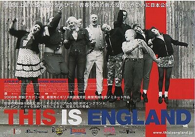 This is England - Original Japanese Chirashi Mini Poster style C - Shane Meadows