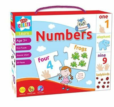 Childrens game Kids Create Lets Learn Numbers