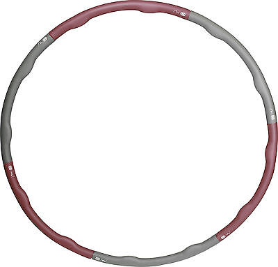 More Mile Weighted 1.5kg Hula Hoop - Purple