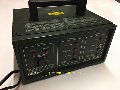 Ex MOD Microcomputer controlled fast charger PAG speedcharge 6000M-SM (N23)
