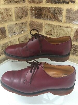 Vintage Men's Size 8 EU42 Oxblood Shoes Made In England Punk Goth