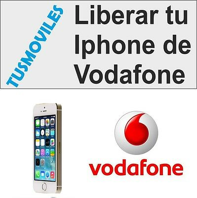 Liberar Iphone Vodafone 4 4S 5 5S 5C 6 6 Plus 3GS 3 todos Unlock Libera