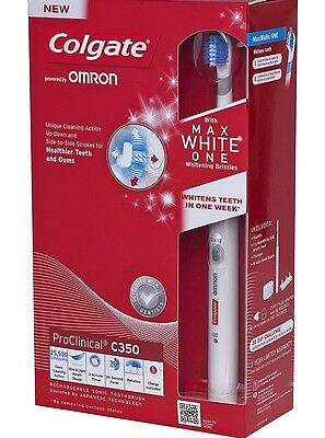 Colgate ProClinical C350 Max white One Rechargeable Electric Toothbrush
