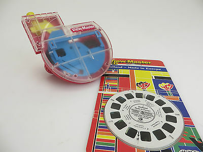 View-Master 3D Made in USA Plexiglas + 3x Holland Pics #CR 395-1 ol002