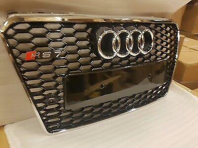 Audi Rs7 Grill A7 To Rs7 S7 Se Sline,2010-2014 Front Grill Uk Stock