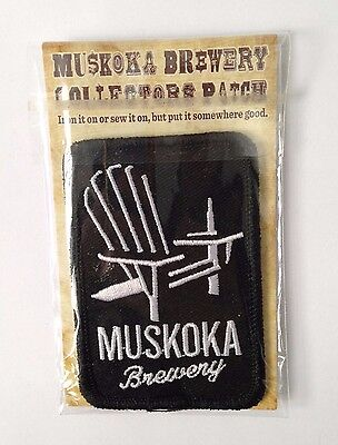 Muskoka Brewery Collectors Patch (Sew or Iron on)