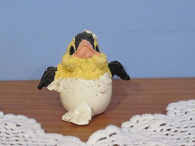 Hatching Goldfinch Figurine
