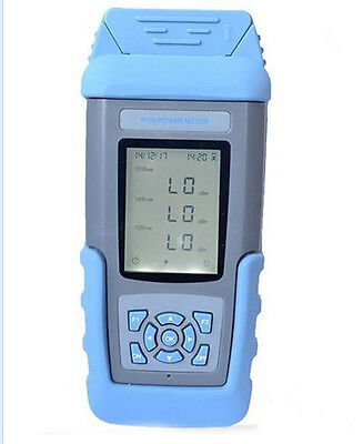 ST805C FTTX PON Optical Power Meter Tester With Rechargeable Battery En-version