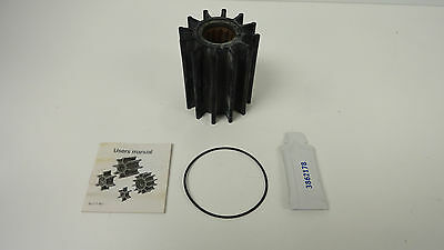 Volvo Penta Sea Water Pump Imepller Kit, Part # 21422649 (S/s To 21958592)