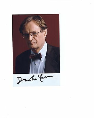 DAVID MCCALLUM autographed 4x6 color photo        DUCKY FROM NAVY NCIS