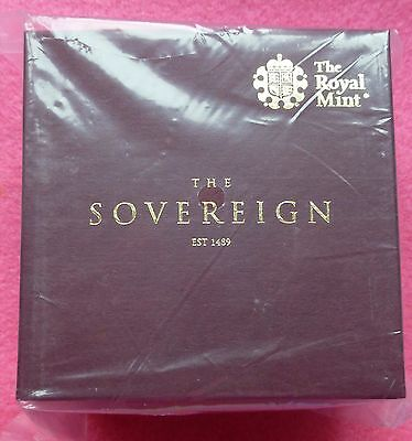 2017 Gold Half Sovereign Proof Coin  Box And Coa -New And Sealed