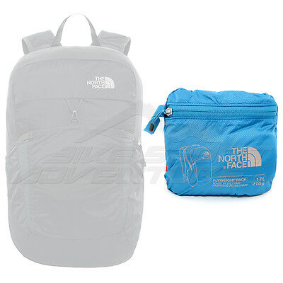 00 The North Face Flyweight Pack Zaino Comprimibile 17 L, Banff Blue/Metallic Si