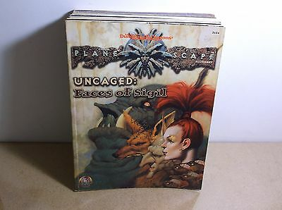 A4  TSR Planescape Uncaged the Faces of Sigil 2624  Dungeons & Dragons