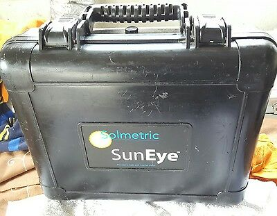 Solmetric Suneye 210 Shade Analysis Tool GPS Hard Shell Case.
