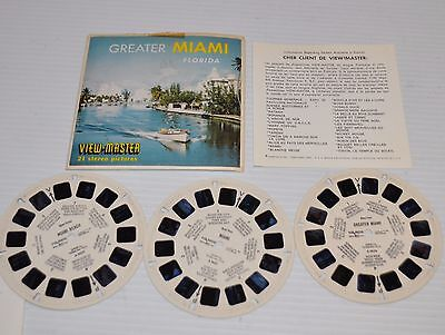 - GREATER MIAMI FLORIDA VIEW-MASTER Reels A-963 -