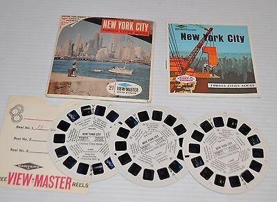 - NEW YORK CITY Famous Cities Series VIEW-MASTER Reels A-649 -