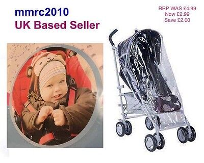 Rain Cover Baby Push Stroller Pram Buggy Waterproof Oyster Stroller To Fit New