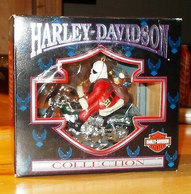 1998  Harley - Davidson  Collection  Christmas  Ornament  By  Cavanagh  Mip