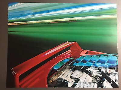 1990 Ferrari F 40 Coupe  Print, Picture, Poster, RARE!! Awesome L@@K
