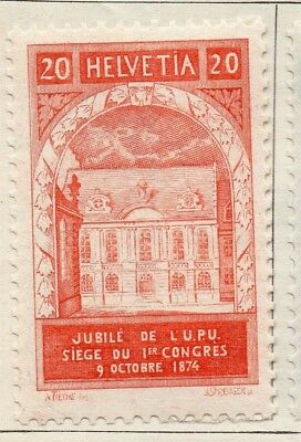 Switzerland 1924 Early Issue Fine Mint Hinged 20c. 127708