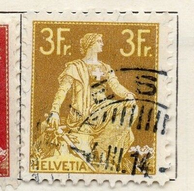 Switzerland 1907 Early Issue Fine Used 1c. 127656
