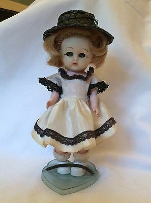 "VINTAGE 1950's COSMOPOLITAN 7"" GINGER DOLL ginny muffie pam friend"