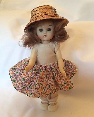 "VINTAGE 1950's PAM DOLL 8"" ginny muffie pam friend"