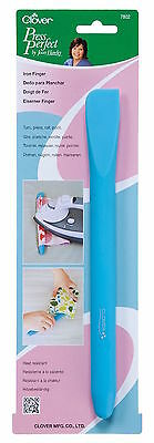 Clover 7802 Press Perfect Iron Finger Tool Silicone Spatula Heat Safe Tool NEW