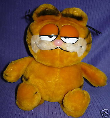"Fun Farm Garfield Vintage 1978,1981 Euc 9"" Sitting~Ag15"
