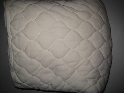 American Baby Company Organic Waterproof Quilted Crib Mattress Pad Cover