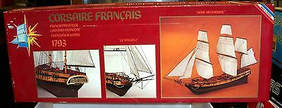 1:50 Maquettes Gerard Schmitt Mgs French Le Tonnant 1793 Wood Model Ship Kit
