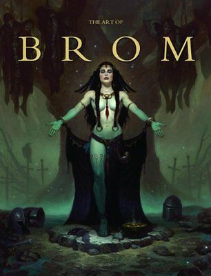 The Art of Brom by Gerald Brom 9781933865492 (Hardback, 2013)