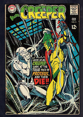 1968 DC Beware of the Creeper #5 VG to FN