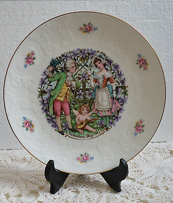 Royal Doulton Collectible Valentine's Day Plate 1982