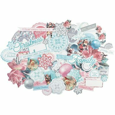 Kaisercraft Silver Bells Collectables (1) Paper Die Cut Pack Embellishments