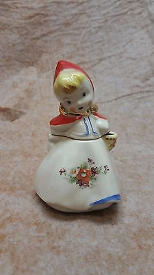 Vintage Hull Little Red Riding Hood Mustard Jar No Spoon Pat 135889