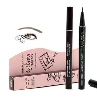 Brown 7Days Eyebrow Tattoo Pen Liner Waterproof Long Lasting Eye Makeup Cosmetic