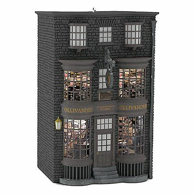 2016 Hallmark Ornament Ollivander's Wand Shop - Harry Potter