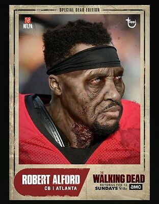 Topps Walking Dead Card Trader The BIG GAME Robert Alford