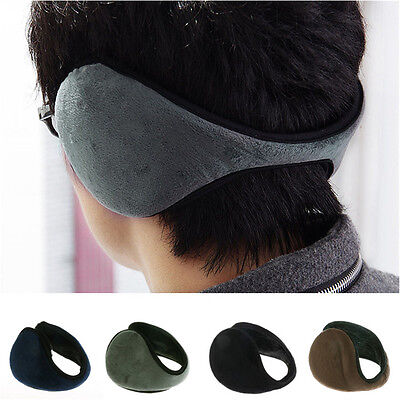 Hot Soft Fleece Earmuff Winter Ear Muff Wrap Band Warmer Grip Earlap Gift Men