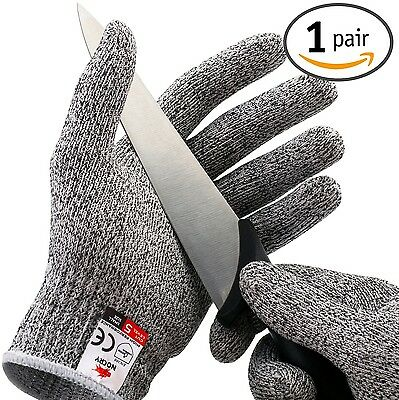 NoCry Cut Resistant Gloves - High Performance Level 5 Protection Food Grade. ...