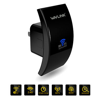 Wavlink Upgrades Wireless-N300mbps Wifi Repeater Network Signal Extender Booster