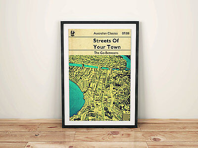 Streets Of Your Town The Go-Betweens inspired Art Print