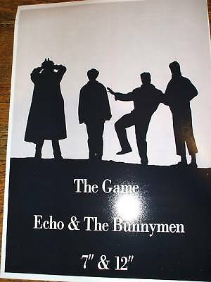 Echo and the Bunnymen The Game Poster