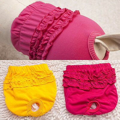 Dogs Female Belly Band Nappy Short Diapers Menstruation Sanitary Pants Kawaii