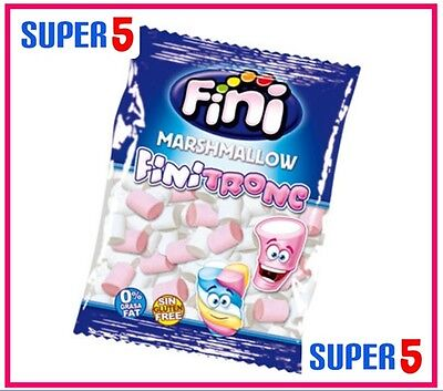 Fini Pink And White Mallow Logs 500 Pieces
