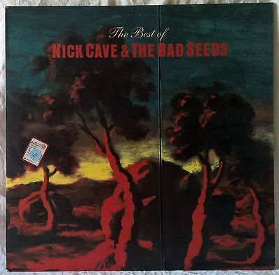 NICK CAVE & THE BAD SEEDS THE BEST OF RARE 2LP 1st PRESSING