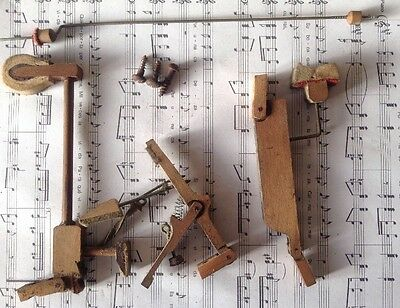 Piano Tuning Upright, Whippen & Hammer Action Assembly, Piano Spare. B5 Key